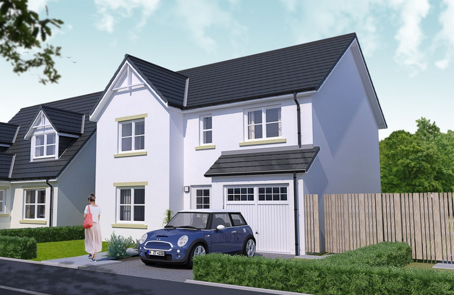 3 bed home in Stonehaven